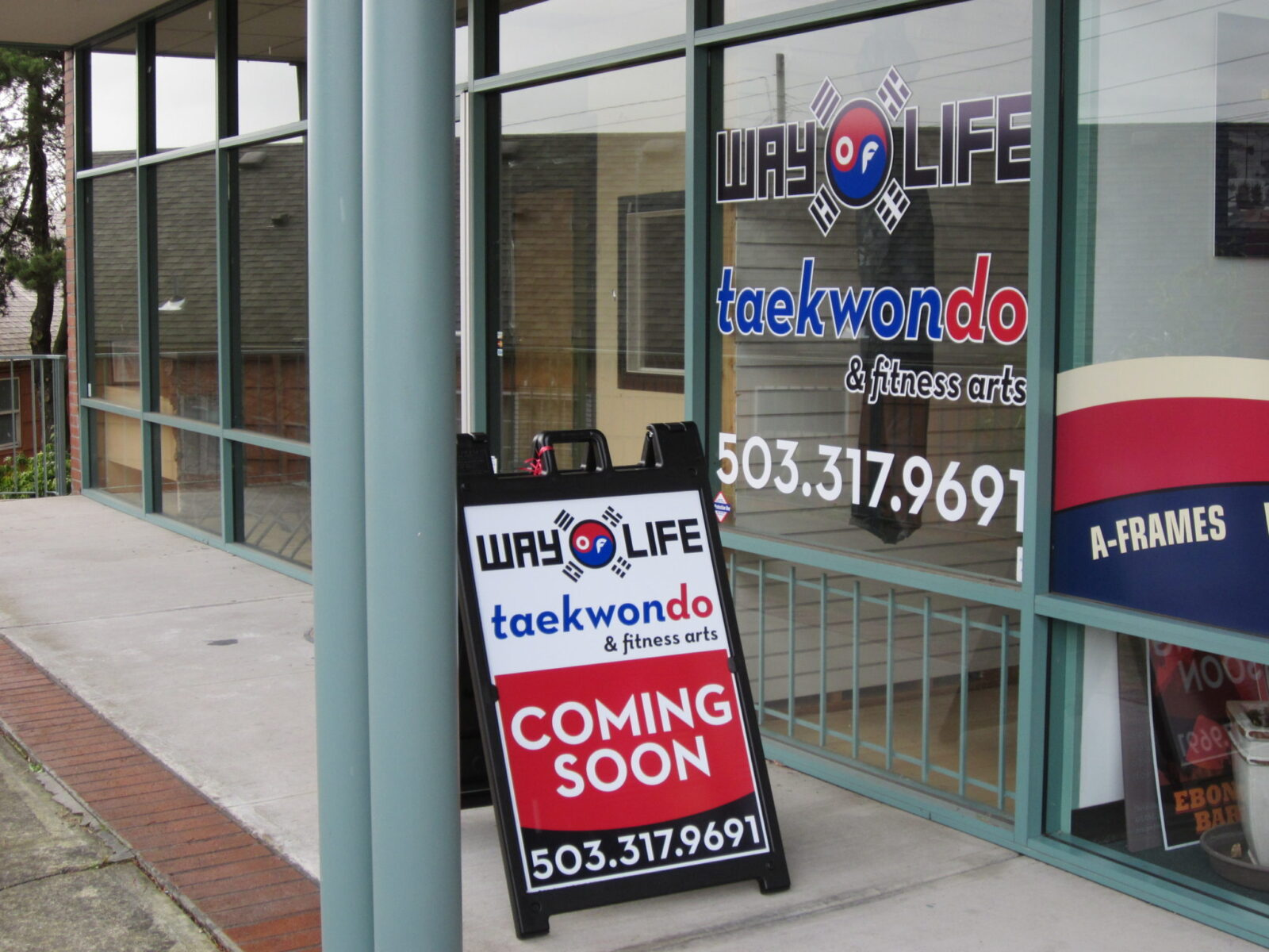 A-Frame & Sidewalk Signs - Signs of Intelligence in Peachtree Corners, GA