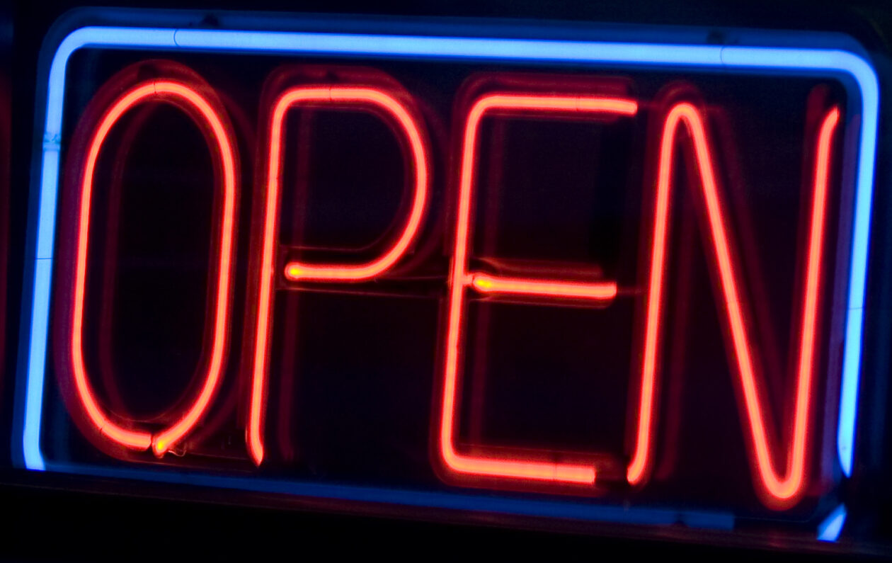 Open for Business Signs - Signs of Intelligence in Peachtree Corners, GA