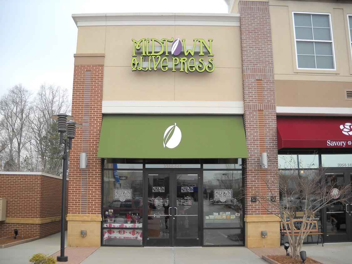 Awning Signs - Signs of Intelligence in Peachtree Corners, GA