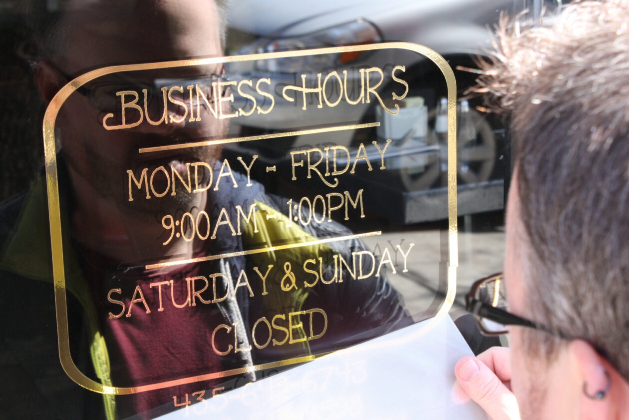 Hours of Operation Signs - Signs of Intelligence in Peachtree Corners, GA