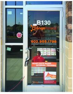 Door Graphics for Orangetheory Fitness