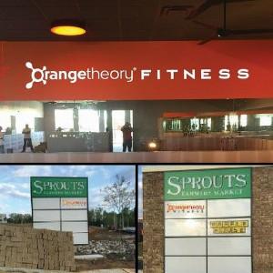 Orangetheory Fitness Interior Signs