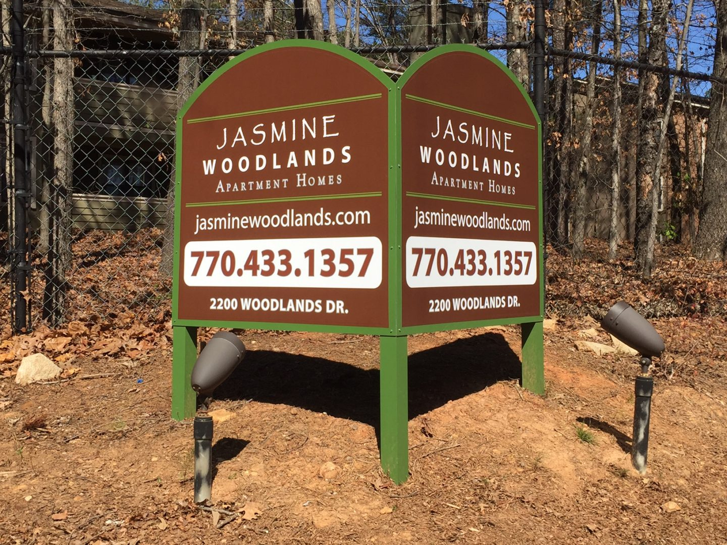 Post Signs - Signs of Intelligence in Peachtree Corners, Brookhaven, Chamblee, Alpharetta, Brookhaven, Chamblee, Duluth, Dunwoody, Johns Creek, Lilburn, Norcross, Sandy Springs, Suwanee