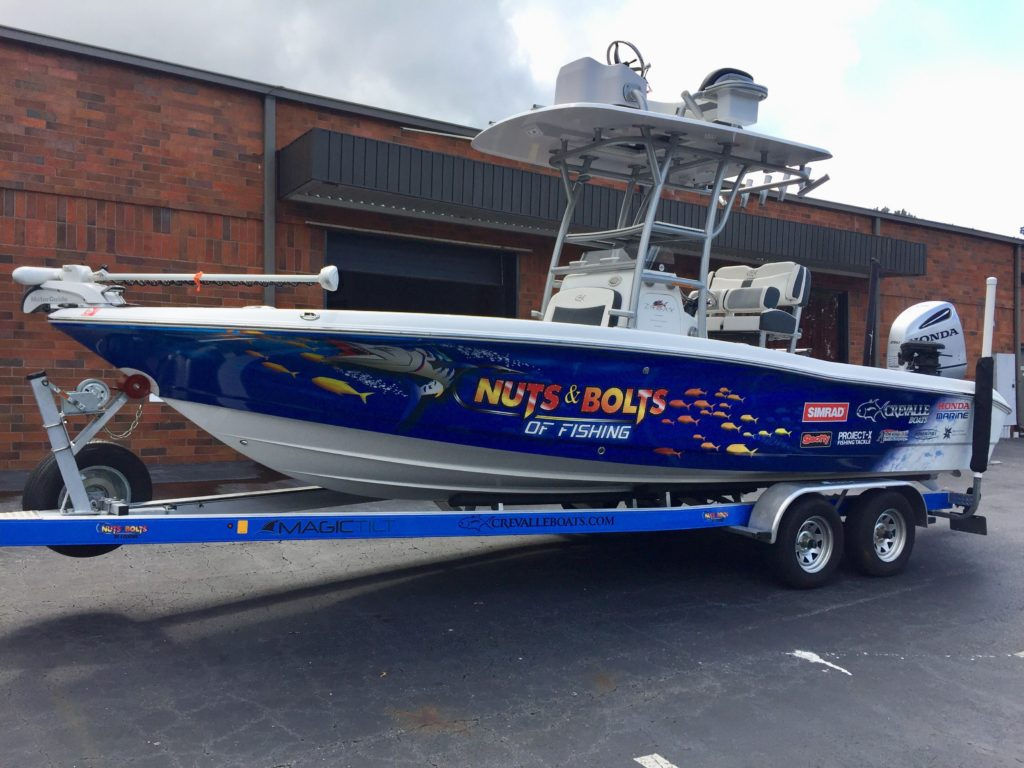 Custom Boat Wraps & Graphics - Signs of Intelligence in Peachtree Corners, Brookhaven, Chamblee, Alpharetta, Brookhaven, Chamblee, Duluth, Dunwoody, Johns Creek, Lilburn, Norcross, Sandy Springs, Atlanta, Suwanee