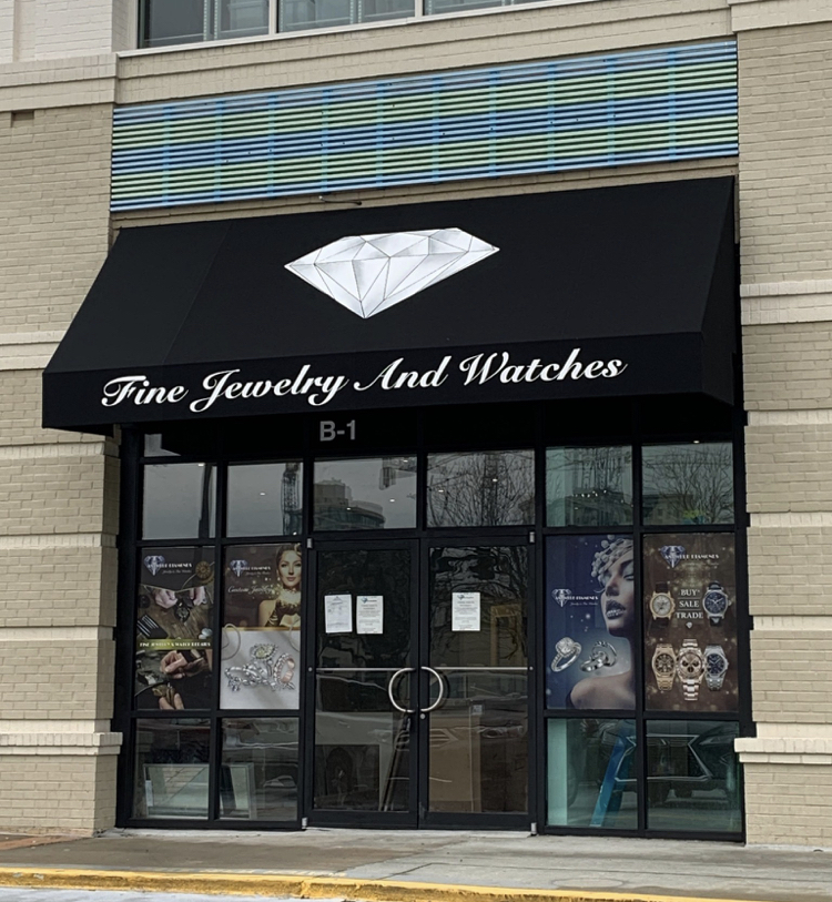 Custom Awning & Canopy Signs - Signs of Intelligence in Peachtree Corners, Brookhaven, Chamblee, Alpharetta, Brookhaven, Chamblee, Duluth, Dunwoody, Johns Creek, Lilburn, Norcross, Sandy Springs, Suwanee