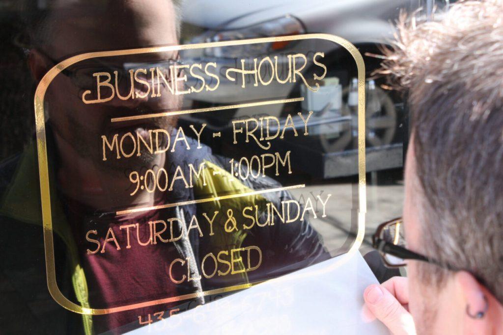 Indoor Door Signs & Graphics – Signs of Intelligence in Peachtree Corners, Brookhaven, Chamblee, Alpharetta, Brookhaven, Chamblee, Duluth, Dunwoody, Johns Creek, Lilburn, Norcross, Sandy Springs, Atlanta, Suwanee