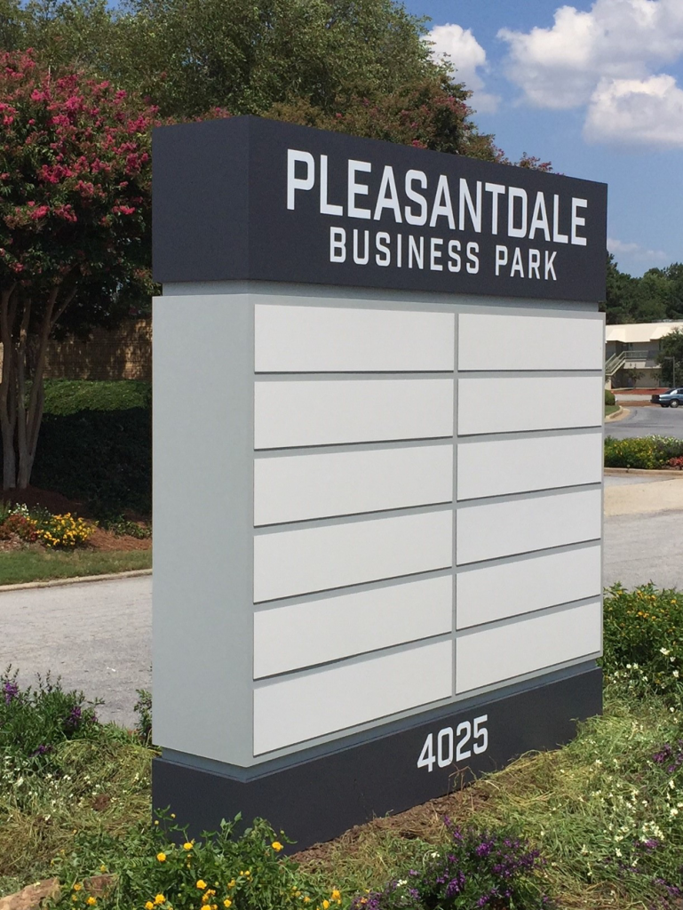 Multiple Tenant Signs - Signs of Intelligence in Peachtree Corners, Brookhaven, Chamblee, Alpharetta, Brookhaven, Chamblee, Duluth, Dunwoody, Johns Creek, Lilburn, Norcross, Sandy Springs, Suwanee