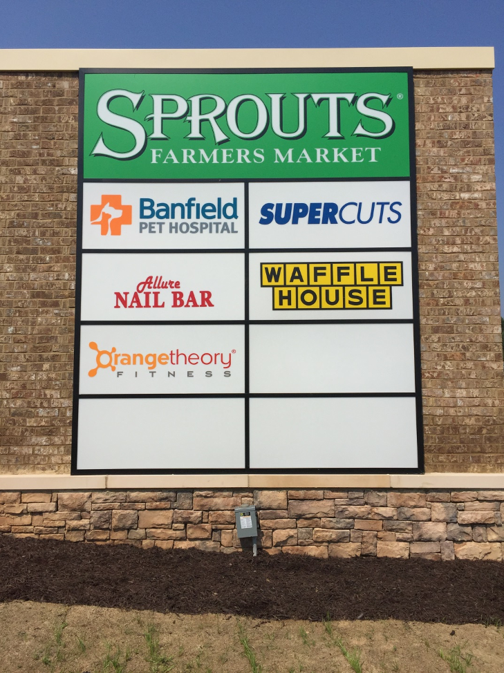 Multiple Tenant Monument Signs - Signs of Intelligence in Peachtree Corners, Brookhaven, Chamblee, Alpharetta, Brookhaven, Chamblee, Duluth, Dunwoody, Johns Creek, Lilburn, Norcross, Sandy Springs, Suwanee