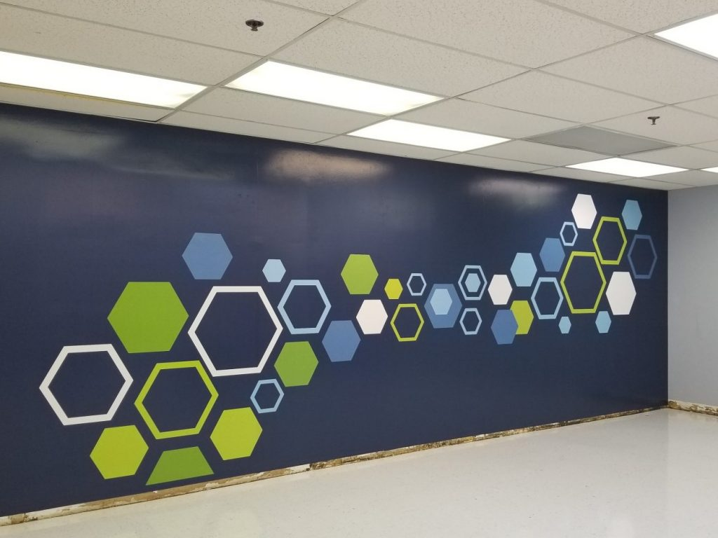 Wall Murals & Wall Wraps - Atlanta Sign Company – Signs of Intelligence in Peachtree Corners, Brookhaven, Chamblee, Alpharetta, Brookhaven, Chamblee, Duluth, Dunwoody, Johns Creek, Lilburn, Norcross, Sandy Springs, Suwanee