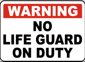 Custom Swimming Pool Signs - No Lifeguard Signs - by Signs of Intelligence in Peachtree Corners, GA