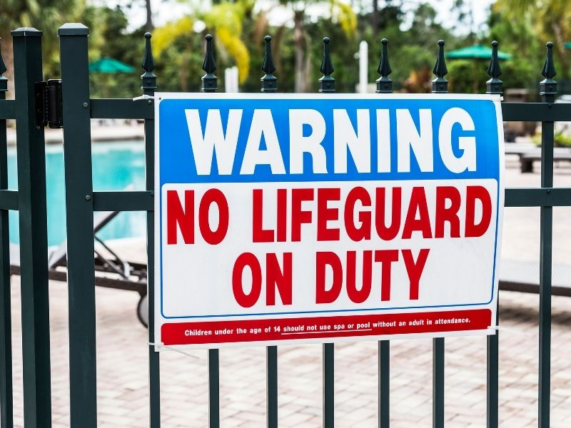 Custom Swimming Pool Signs - Sign Company - by Signs of Intelligence in Peachtree Corners, GA