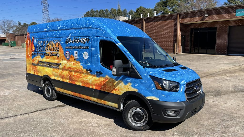 Fleet Vehicle Wraps & Graphics - Full Vehicle Wrap by local Sign Company in Peachtree Corners, GA