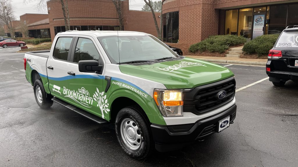 Fleet Vehicle Wraps & Graphics - Partial Vehicle Wrap by local Sign Company in Peachtree Corners, GA