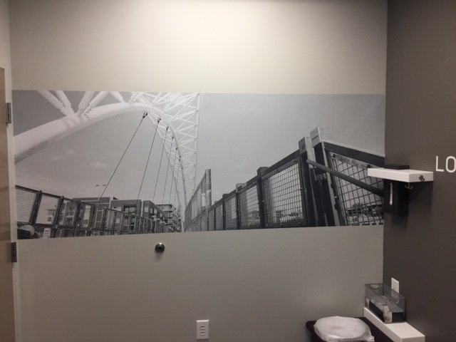 Vinyl Wall Mural Signs - by Signs of Intelligence in Peachtree Corners, GA