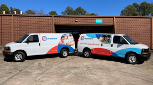 Vehicle Wraps & Graphics Fleet - Partial Vehicle Wrap by local Sign Company in Peachtree Corners, GA