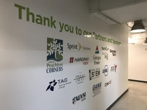 Office Signage - Custom Wall Graphics by Signs of Intelligence in Peachtree Corners, GA